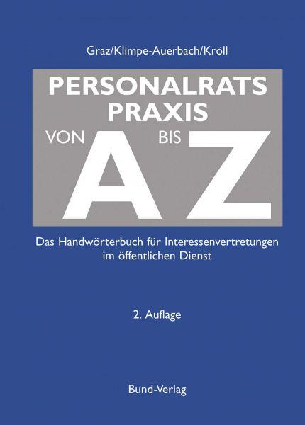 Personalratspraxis von A bis Z