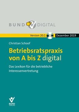 Betriebsratspraxis von A bis Z digital Version 20.1Fortsetzungsbezug