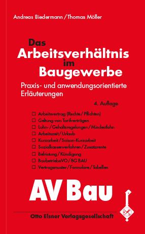 Das Arbeitsverhältnis Im Baugewerbe Bws Fachverlag