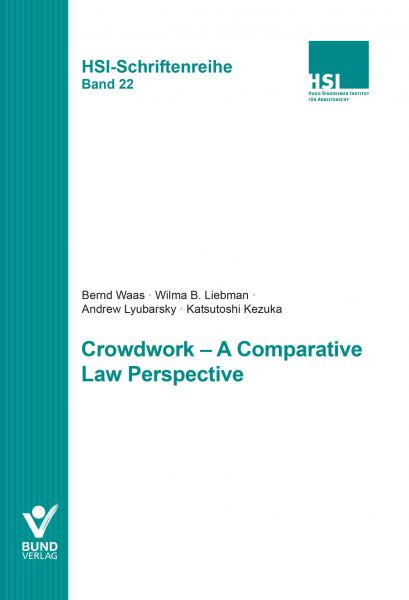 Crowdwork - A Comparative Law Perspective