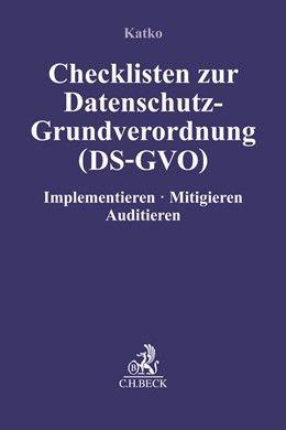 Checklisten zur Datenschutz-Grundverordnung (DS-GVO)
