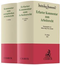 Erfurter Kommentar zum Arbeitsrecht (20. Aufl.) und Kommentar zum europäischen Arbeitsrecht (3. Aufl
