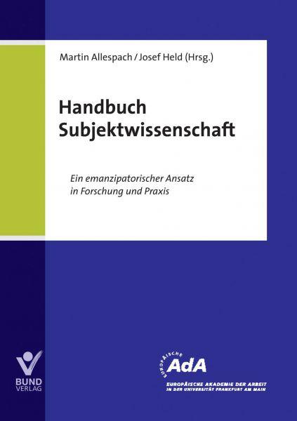 Handbuch Subjektwissenschaft
