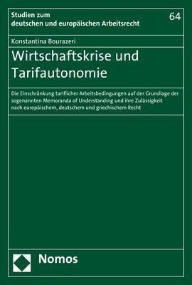 Wirtschaftskrise und Tarifautonomie