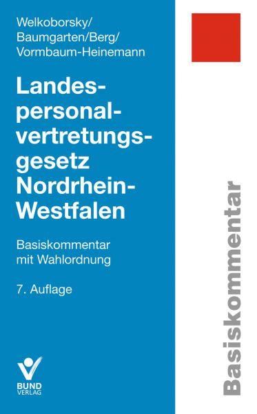 LandespersonalvertretungsgesetzNordrhein-Westfalen