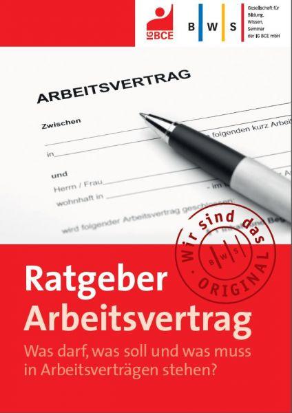 Ratgeber Arbeitsvertrag